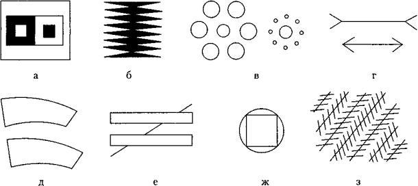 иллюзии зрительного восприятия